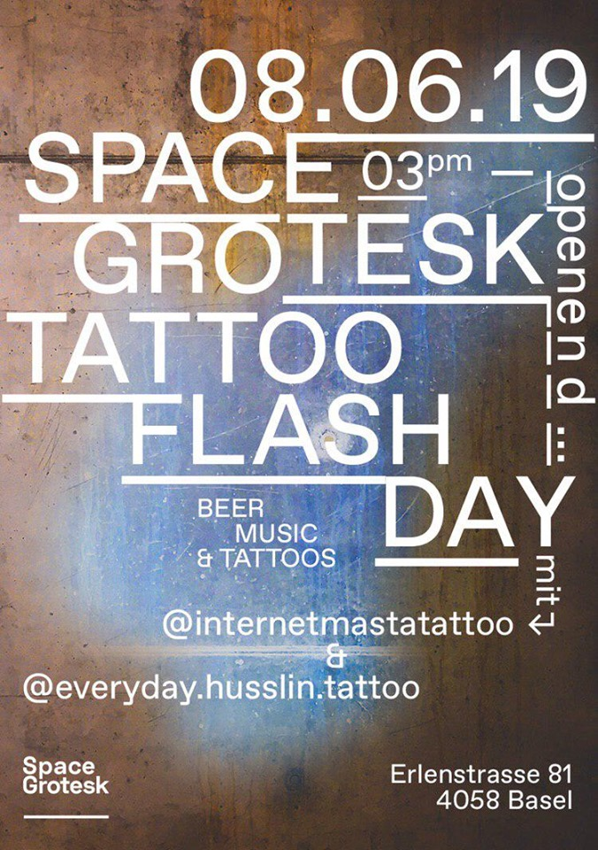 Space Grotesk – Tattoo Flash Day